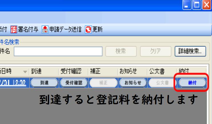 法人設立登記・電子申請・送信